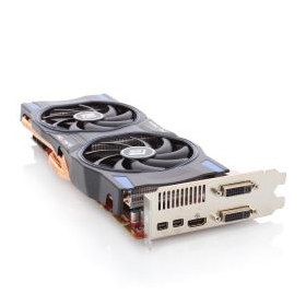 3072МБ, Power Color AX7970 3GBD5-2DHE/OC, HD 7970, 2xDVI, HDMI, 2xminiDP, GDDR5, 384-бит, Retail